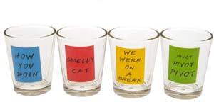 Friends Shot Glasses