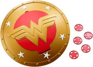 Girls Wonder Woman Shield