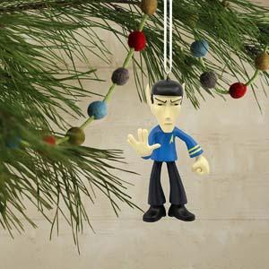 Hallmark Christmas Ornament Star Trek Spock