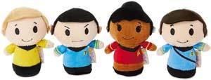 Hallmark Itty Bittys Star Trek 50th Anniversary Collector Set