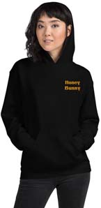 Honey Bunny Embroidered Hoodie