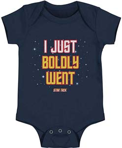 I Just Boldly Went Infant Snapsuit