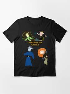 I Remember Kim Possible T Shirt
