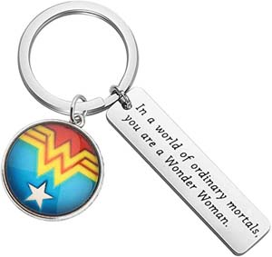 In A World Of Ordinary Mortals Keychain