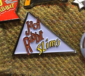 Jack Rabbit Slim's Enamel Pin