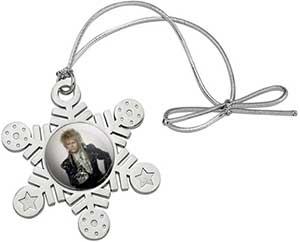 Jareth Metal Snowflake Christmas Tree Ornament
