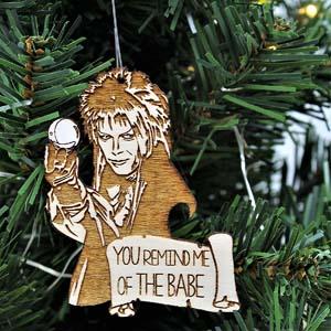 Jareth The Goblin King Christmas Ornament