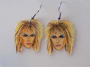 Jareth The Goblin King Earrings