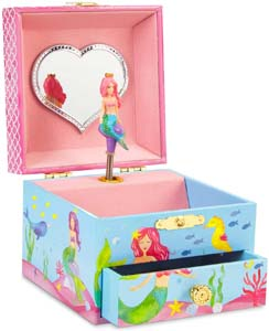 Jewelkeeper Mermaid Girl's Musical Jewelry Box