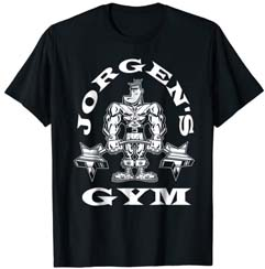 Jorgen's Gym T Shirt