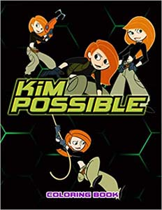Kim Possible Coloring Book
