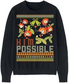 Kim Possible Ugly Christmas Sweater