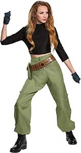 Kim Possible Womens Cosplay Costume