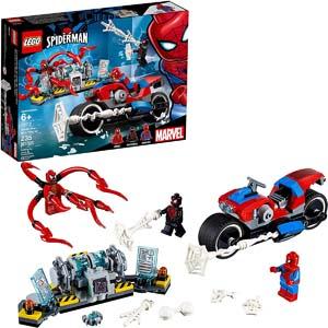 Lego Marvel Spider Man Bike Rescue