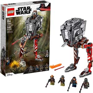 Lego Star Wars At St Raider The Mandalorian Collectible All Terrain Scout Transport Walker