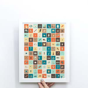 Lost 108daysoflost Illustrations Print