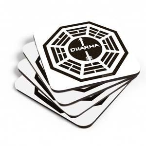 Lost Dharma Initiative Coasters