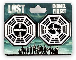 Lost Dharma Initiative Pin Set