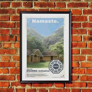 Lost Dharma Initiative Poster