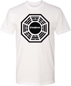 Lost Dharma Logo T Shirt