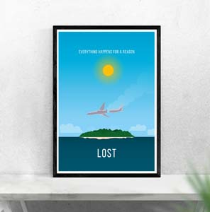 Lost Everything Happens For A Reason Poster
