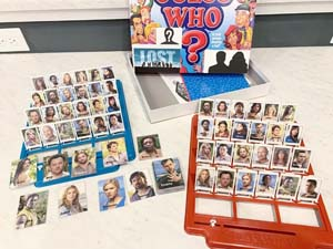 Lost Guess Who Game