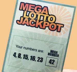 Lost Lottery Ticket Sticker