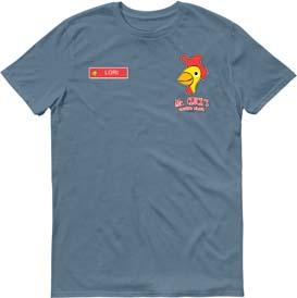 Lost Mr Clucks Personalized Uniform T Shirt
