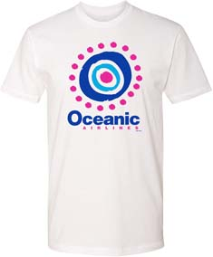 Lost Oceanic Airlines T Shirt