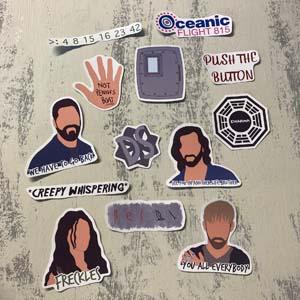 Lost Sticker Pack