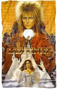Labyrinth – Crystal Ball Fleece Blanket