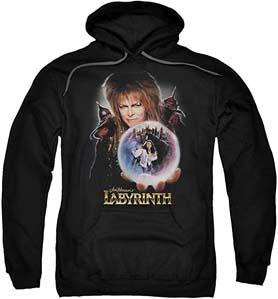 Labyrinth 1980's Fantasy Hoodie