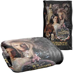 Labyrinth Only Forever Silky Touch Super Soft Throw Blanket