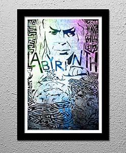 Labyrinth Original Minimalist Art Poster