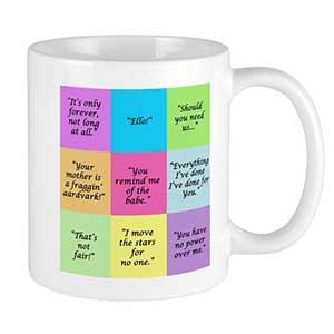 Labyrinth Quotes Ceramic Mug