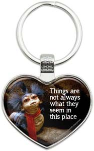 Labyrinth The Worm Key Chain Quote