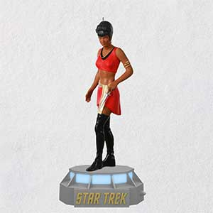 Lieutenant Nyota Uhura Ornament With Light And Sound