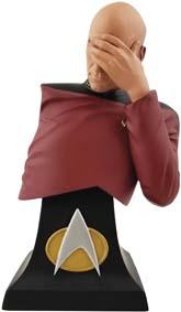 Limited Edition Star Trek Tng Picard Facepalm Bust