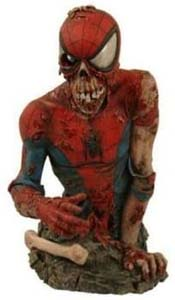 Limited Edition Zombie Spider Man Bust