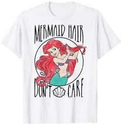 Little Mermaid Ariel's Hair Don't Care T Shirt