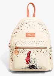 Little Mermaid Rose Gold Mini Backpack