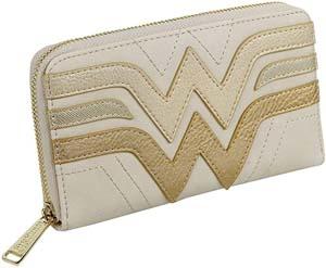 Loungefly X Wonder Woman Gold Logo Wallet
