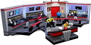 Mega Bloks Star Trek U.s.s. Enterprise Bridge Construction Set