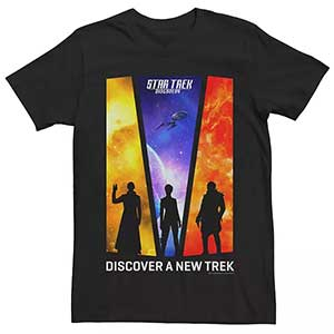 Mens Star Trek Discovery A New Trek Graphic Tee