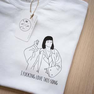 Mia Wallace Minimalist T Shirt