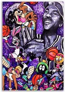 Michael Jordan Space Jam Portrait