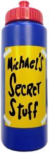 Michaels Secret Stuff Water Bottle