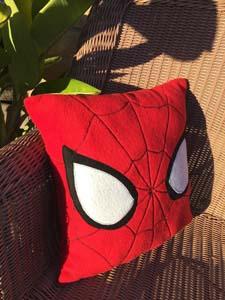 Minimalist Spiderman Pillow
