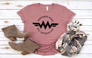 Mom Is Wonder Woman T Shirt