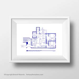Monica's Apartment Floorplan